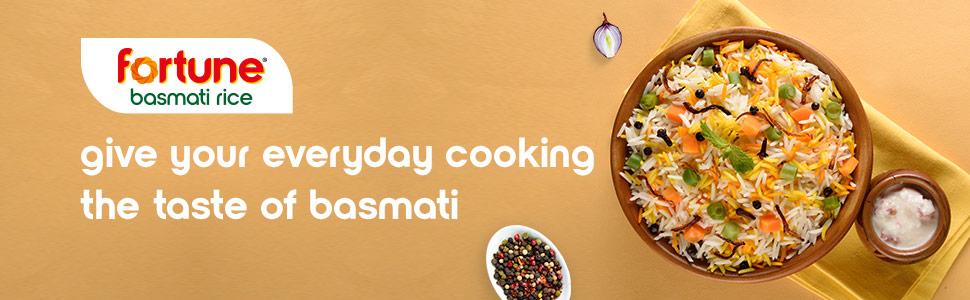 Fortune Everyday Basmati Rice, 5kg: Amazon.in: Amazon Pantry