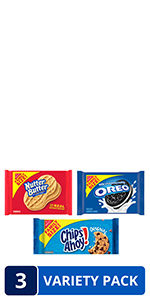 OREO, CHIPS AHOY! NUTTER BUTTER VARIETY PACK