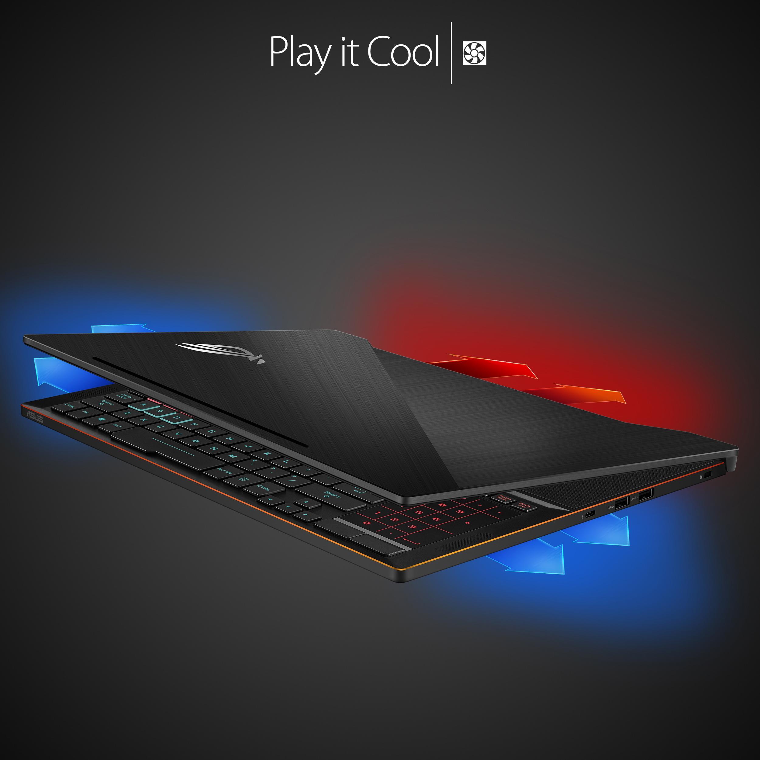 """Amazon.com: ASUS ROG Zephyrus GX501 15.6"""" Full-HD 120Hz"""
