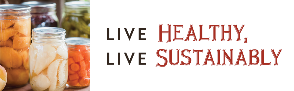 live healthy live sustainably