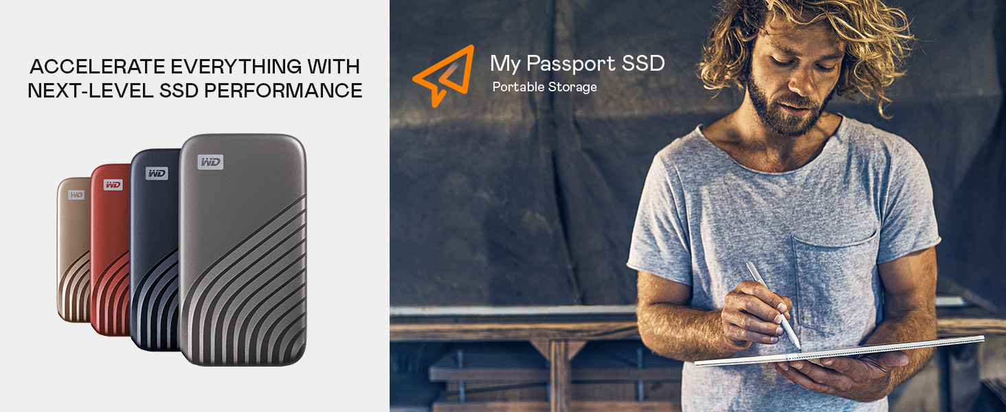 WD 500GB Passport SSD