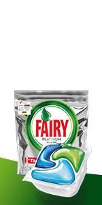 Fairy Platinum Cápsulas de Lavavajillas - pack de 60 unidades ...