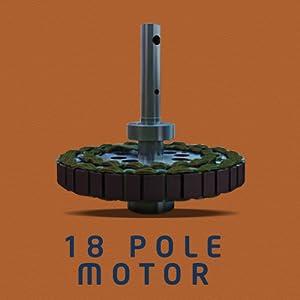 18 Pole motor
