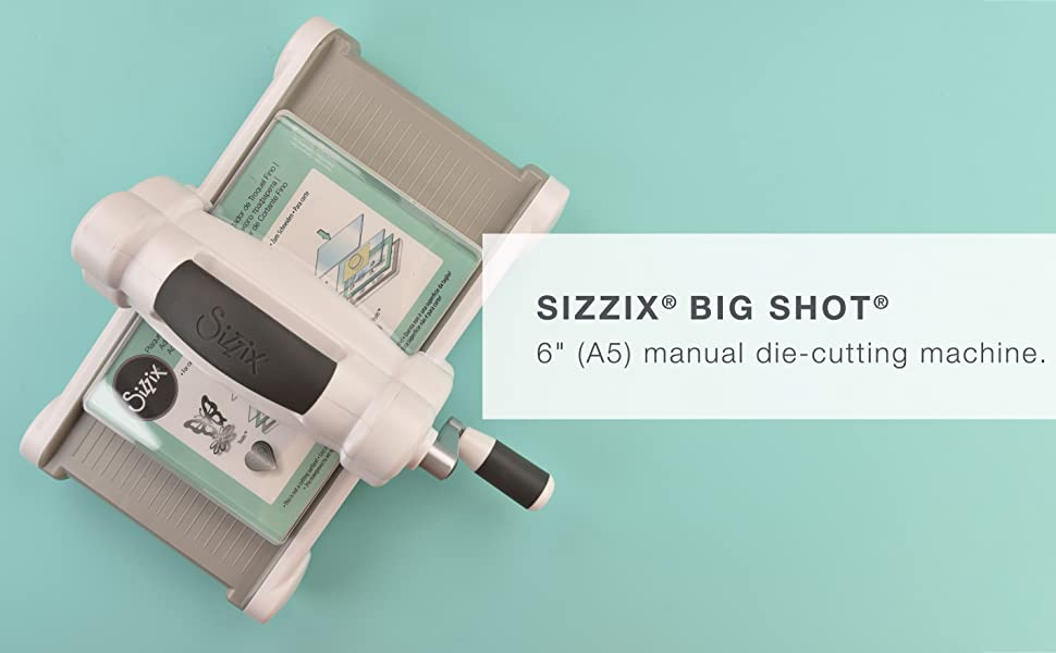 Sizzix Die Cutter /& Embosser  WORD LOVE fits Big Shot Cuttlebug