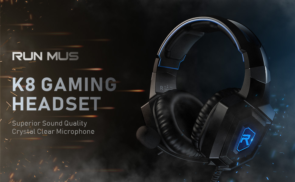 RUNMUS gaming headset K8
