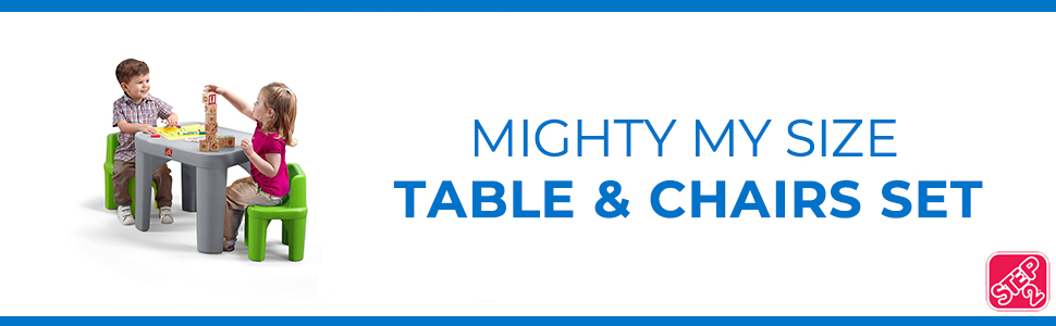 Mighty My Size Table & chairs