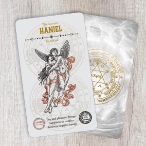 tarot; angels; oracle; rockpool; new age; guardian; occult; kabbalah; Shem HaMephorash; haniel