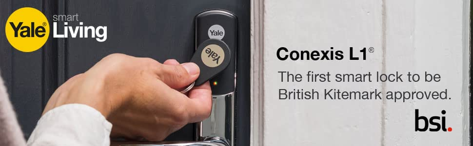 Conexis L1. First BSI approved Smart Lock