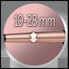 برميل 19-28mm