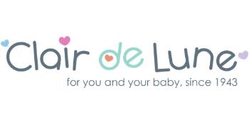 Clair De Lune Fußsack Deck Für Kinderwagen Vlies Schwarz Baby