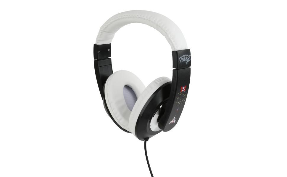 Galaga Kid Safe Over-Ear Headphones HP1-21717 W/Volume Limiter by Sakar, Adjustable Headband, Comfortable Ear Cups, Great Audio, Kids Safe Technology, ...