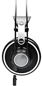 AKG K712PRO Open-Back, Over-Ear Premium Reference Class Studio Headphones