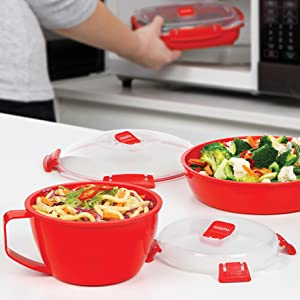 A dedicated microwave range for hassle free cooking and reheating