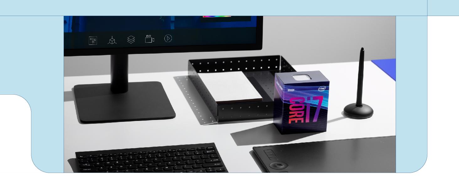 9th generation Intel Core i7-9700 desktop boxed processor