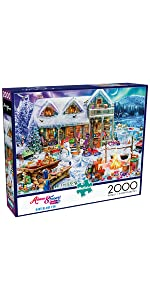 Winterland Fun - 2000 Piece Jigsaw Puzzle