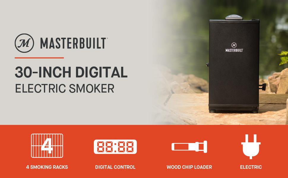 Masterbuilt 30 inch digital electric smoker