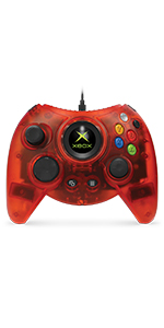 Duke Red Limited Edition Hyperkin Wired Controller Xbox One Windows 10 PCs