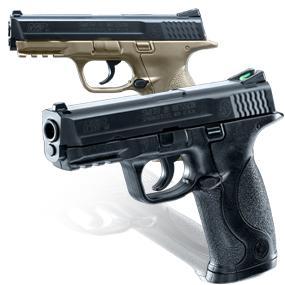 Smith & Wesson M&P 40  177 Caliber BB Gun Air Pistol, Black, Standard Action