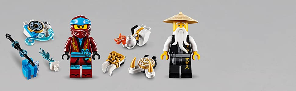 Amazoncom Lego Ninjago Spinjitzu Nya Wu 70663 Building Kit New