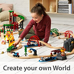 BRIO, Wooden Toys, Toy Trains, Wooden Train Sets, Toys for Preschoolers, Wooden Trains