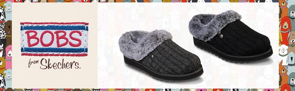 b3baadfa5643 Skechers Women s Keepsakes-Ice Angel Mule Charcoal  Amazon.co.uk ...