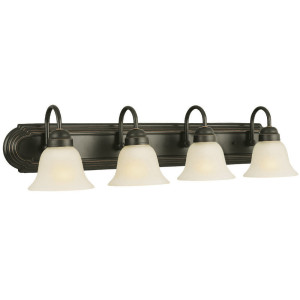 Design House 506626 Allante 4 Light Vanity Light Oil Rubbed Bronze Vanity Lighting Fixtures Amazon Com