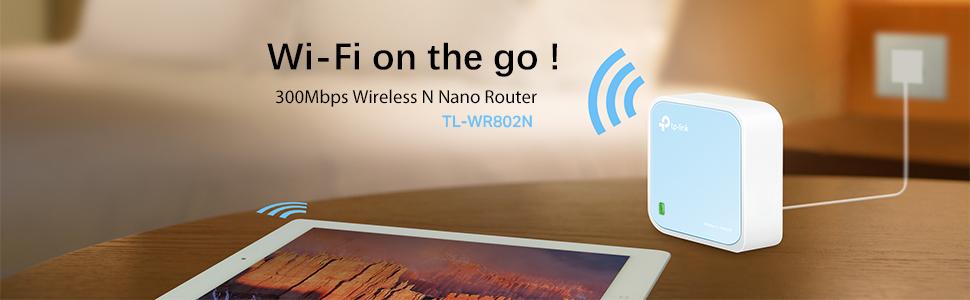 Nano Router N300 Wi-Fi Portatile