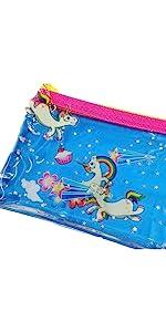 unicorn pencil pouch; pencil case for kids; pencil case for girls