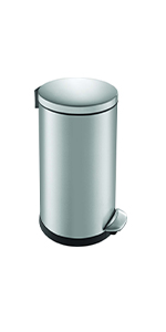 EKO; luna; trash; garbage; rubbish; waste; bin; can; step; kitchen; bathroom; office; laudnry