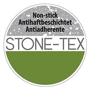 Metaltex NATIVA - Sartén Aluminio Forjado, 26 cm, antiadherente Stone-Tex, Full Induction válido para todo tipo de cocinas