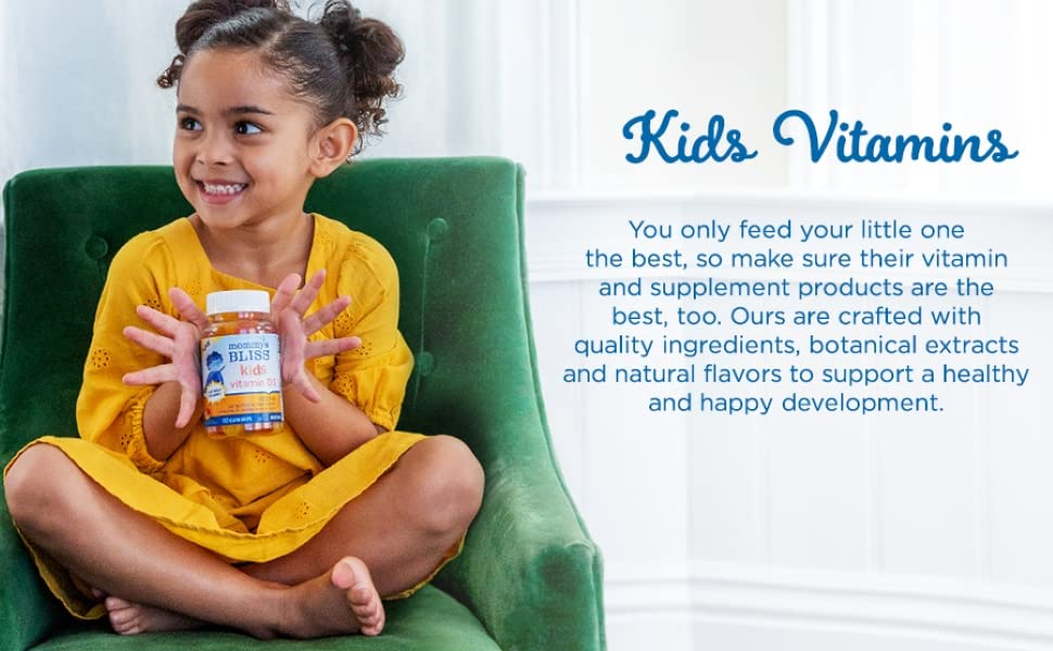Kids Vitamin D3 high quality ingredients supplements healthy and happy development natural flavors