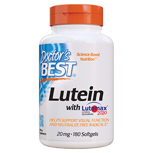 Lutein with Lutemax 2020 visual function protect eyes fhigh energy blue light