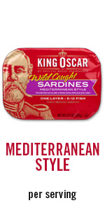 sardines, meal, per servings, protein