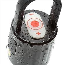 IP66の防塵・防水性