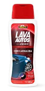 lava autos com cera shampoo para carros proauto