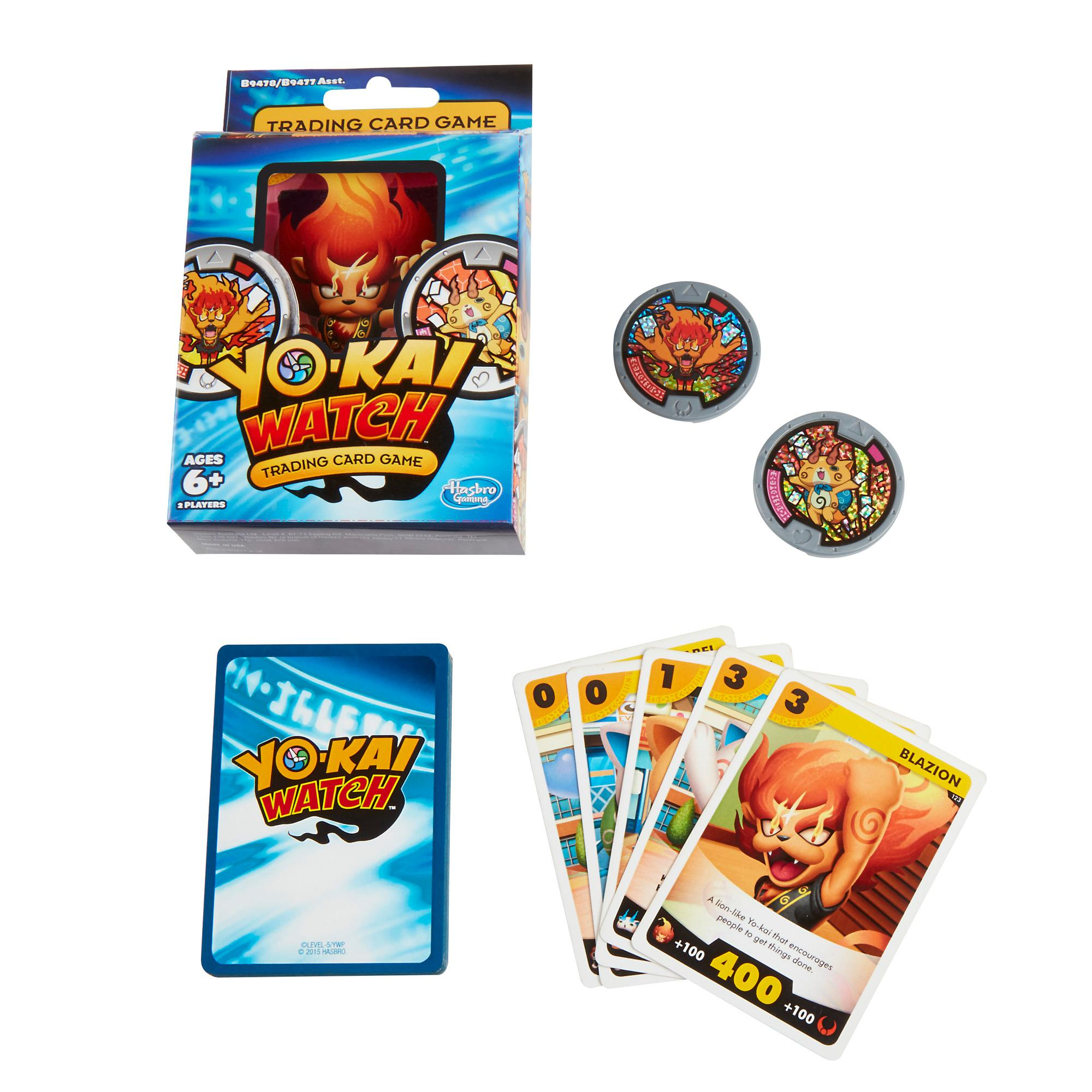 Yokai Watch Trading Card Game Blazion and Komajiro Starter Pack