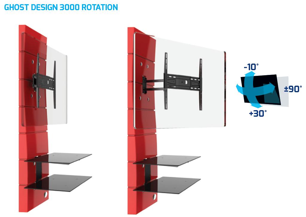 meliconi ghost design 3000 488310 schwarz. Black Bedroom Furniture Sets. Home Design Ideas