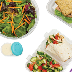 plastic lunch containers