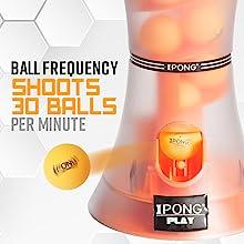 Ball frequency shoots 30 balls per minute