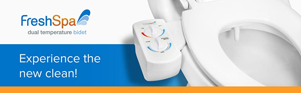 FreshSpa dual temperature bidet experience the new clean!