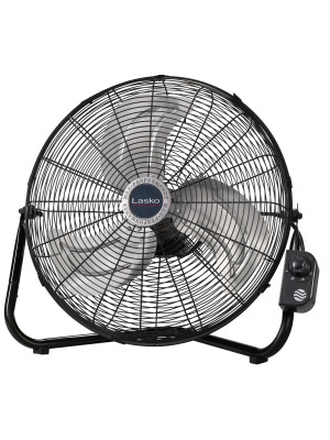Lasko 20 High Velocity Quick Mount Easily Converts From A Floor Wall Fan 7 X 22 X 22 Inches Black 2264qm Home Kitchen