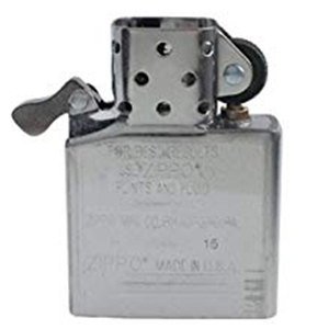 insert, durable, long lasting, metal insert, refillable, reusable, windproof insert, flame,