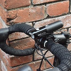 VOLT400 ボルト400 ヘッドライト 自転車用ヘッドライト ロードバイク クロスバイク ミニベロ 小径車 ブルベ ロングライド