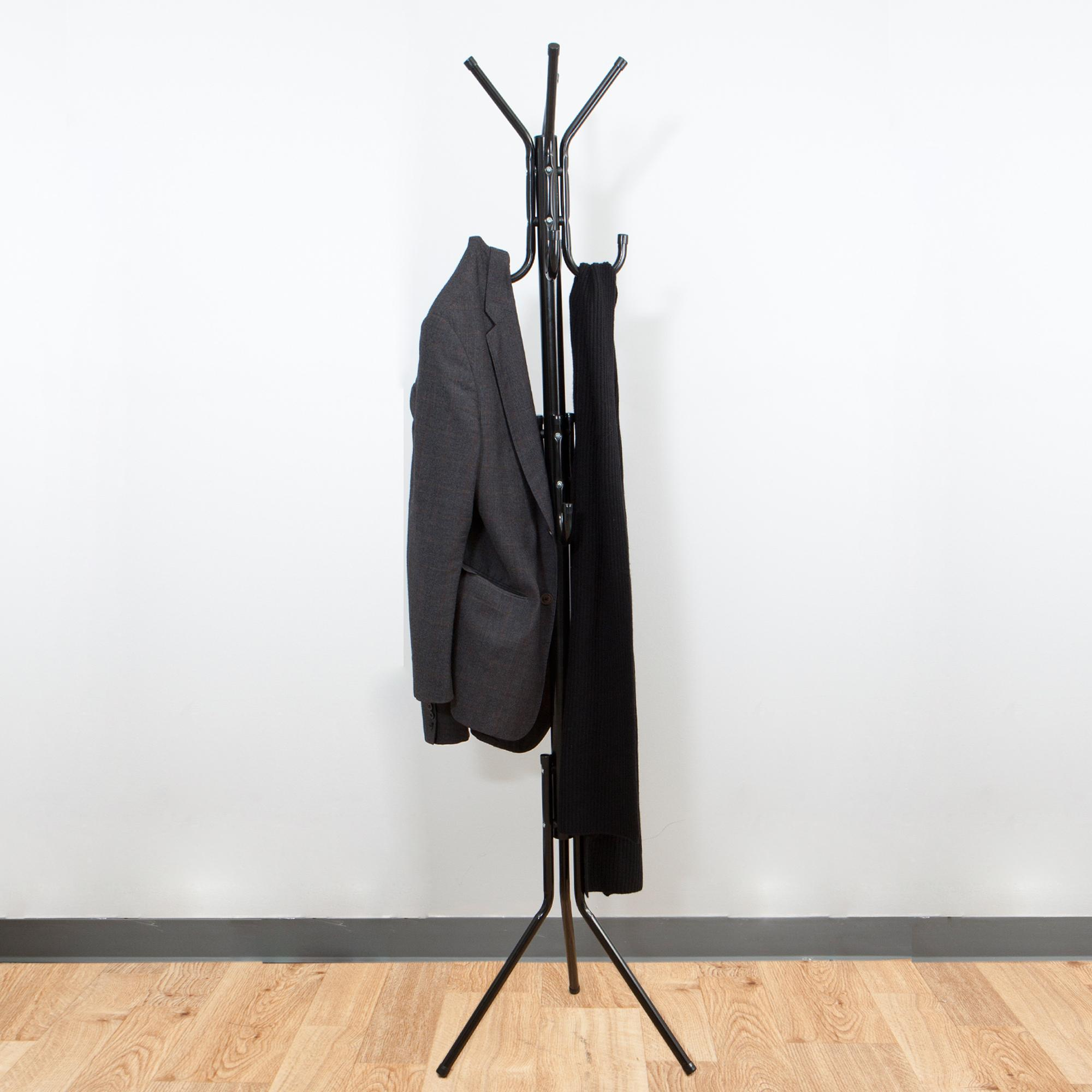 Mind Reader Coatrack11 Blk Hang 39 11 Hook Metal Coat Jacket