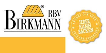 RBV Birkmann Moule de cuisson pour pain, baguette, gâteau, biscuit, cuisine
