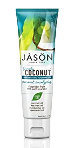 Jason Simply Coconut Refreshing Toothpaste