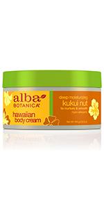 Hawaiian Kukui Nut Body Cream