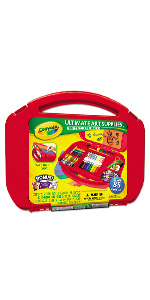 ultimate art case, crayola art case, markers, colored pencils, crayons, art supplies, coloring kit