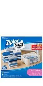 Ziploc Space Bag Variety, 5 Count