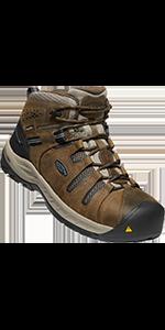 mens flint ii 2 mid steel toe water-proof safety footwear work boot